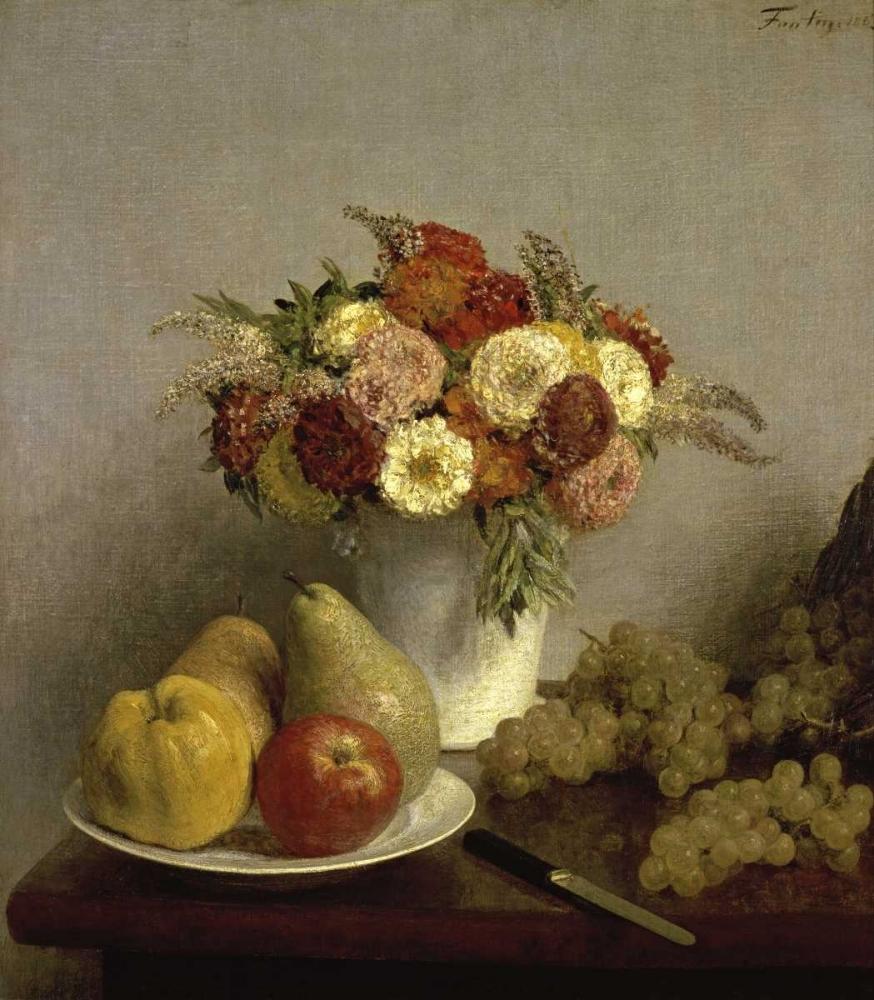 Flowers and Fruit Cuisine Fantin-Latour, Henri 91976