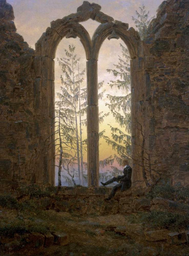 A Dreamer Friedrich, Caspar David 91983