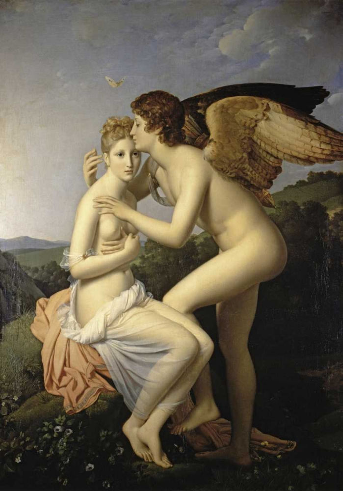 Cupid and Psyche Gerard, Francois Pascal Simon 91988