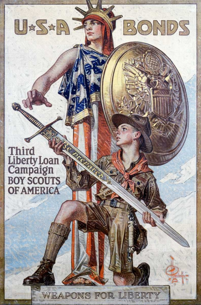 Weapons for Liberty, 1918 Leyendecker, J.C. 92020