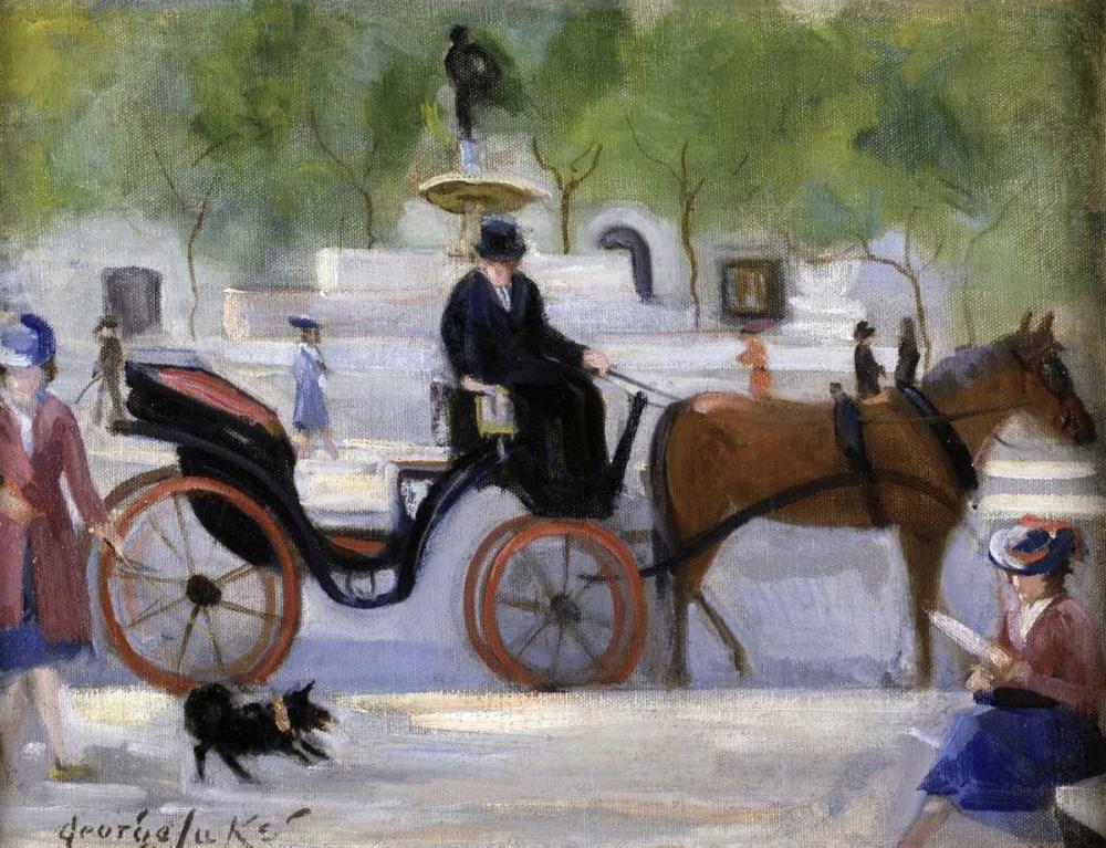 Central Park Carriage Luks, George Benjamin 92032
