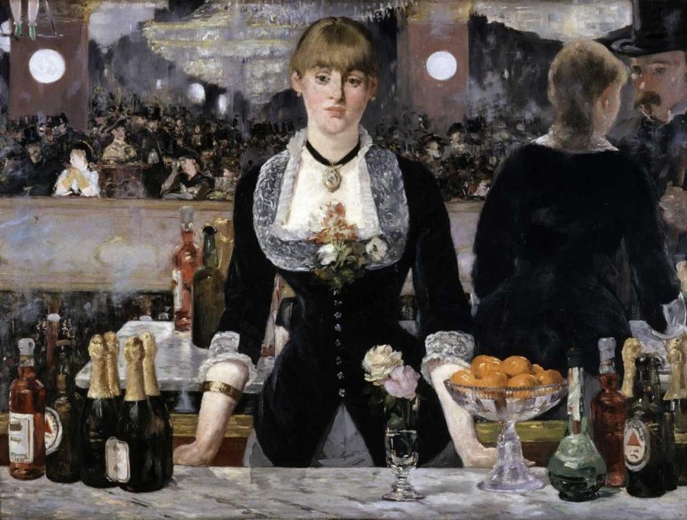 Bar at the Folies-Bergeres Manet, Edouard 92038