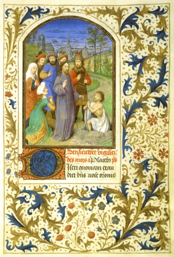 The Raising of Lazarus : Book of Hours - Detail Marmion, Simon 92047