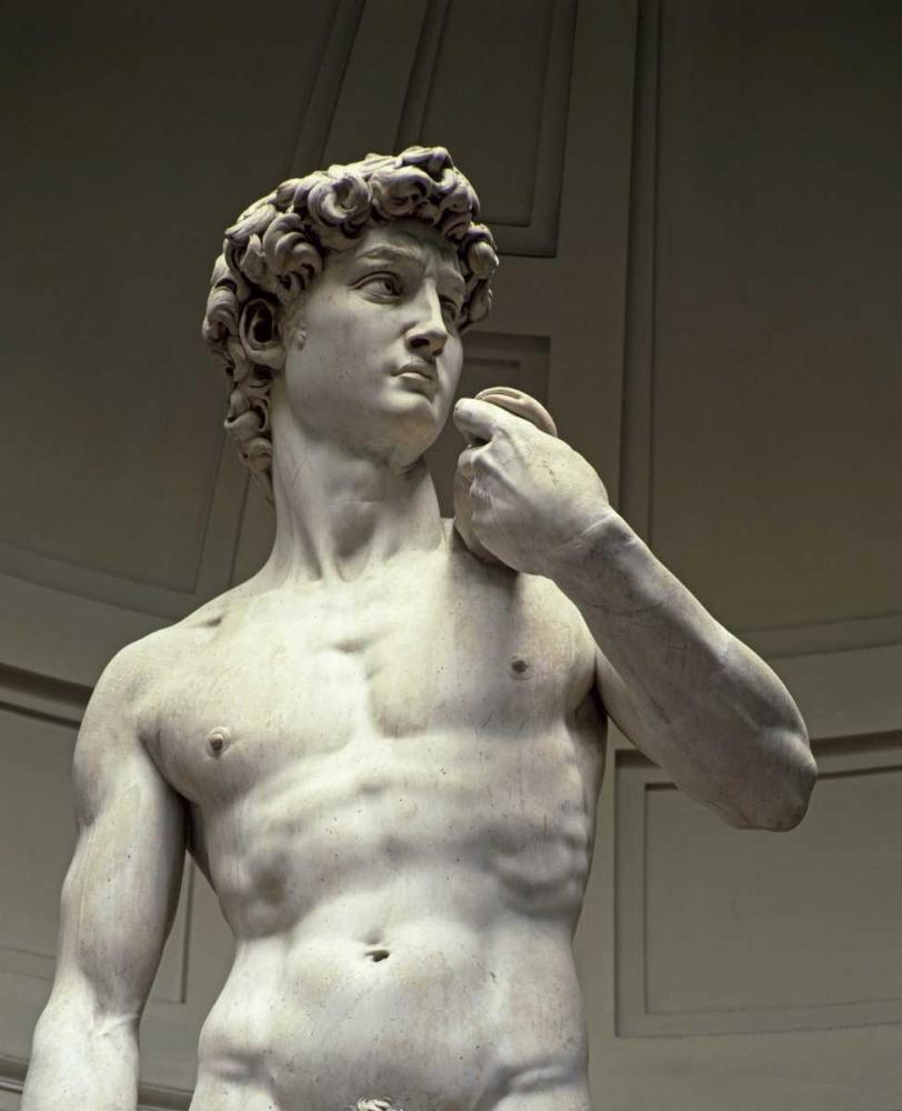 David - Detail II Michelangelo 92060