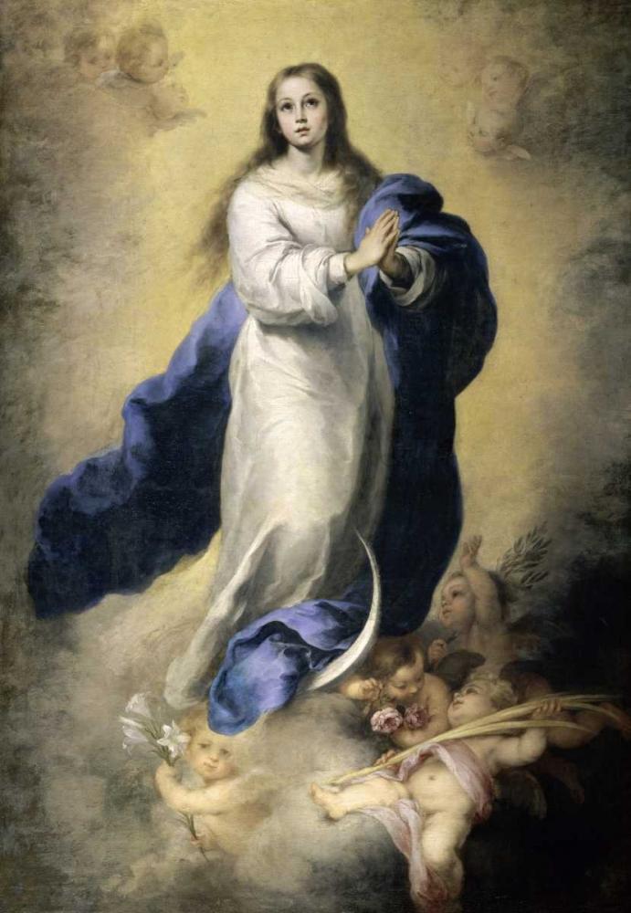 The Immaculate Conception Murillo, Bartolome Esteban 92067