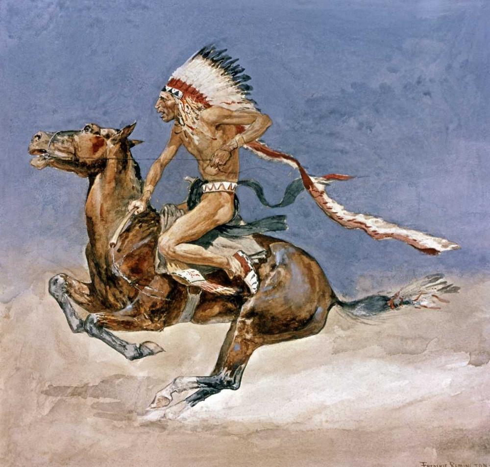 Pony War Dance Remington, Frederic 92095