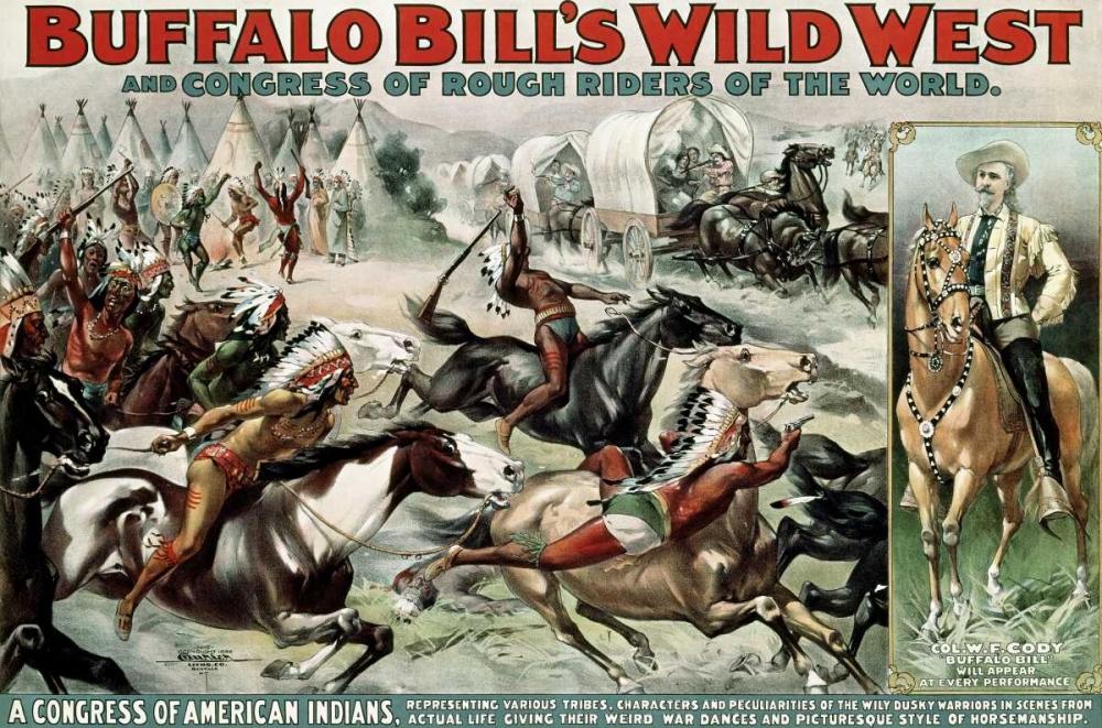 Buffalo Bills Wild West - Poster Unknown 92146