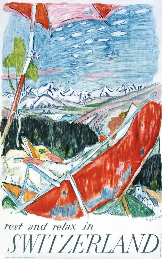 Switzerland Carigiet, Alois 92168