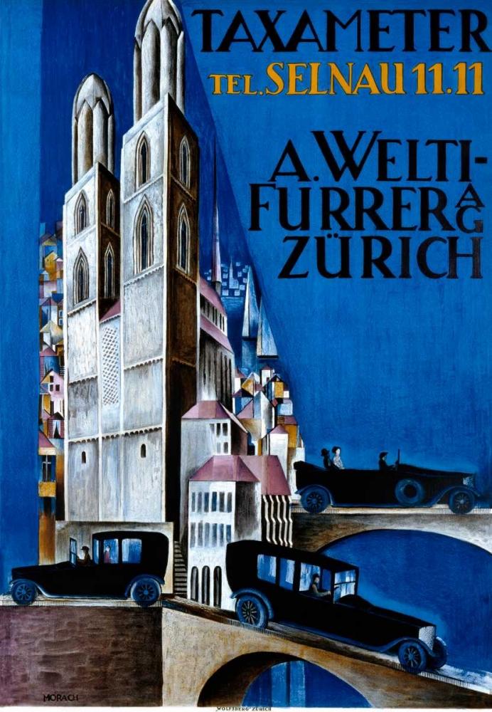 Taxameter A Welti-Furrer AG / Zurich Morach, Otto 92180