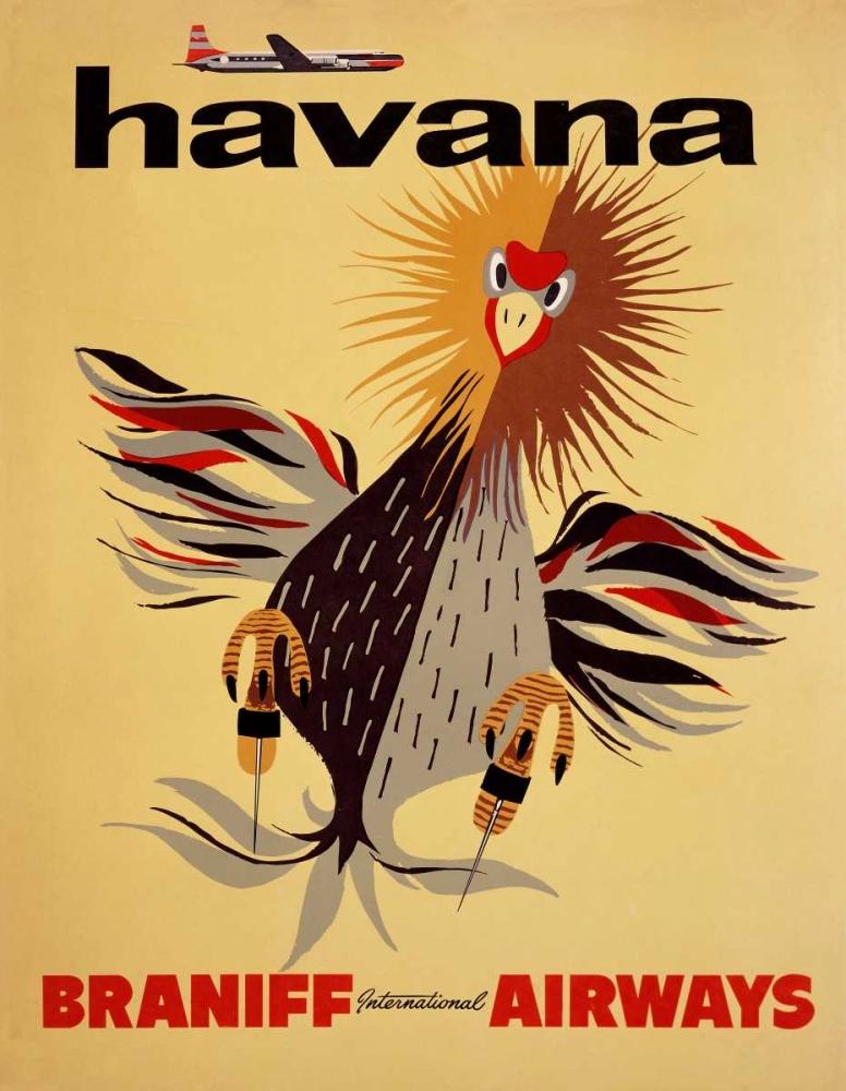 Braniff International Airways / Havana Unknown 92222