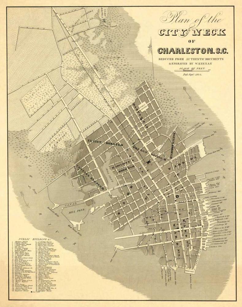Charleston, South Carolina, 1844 Keenan, William 158660