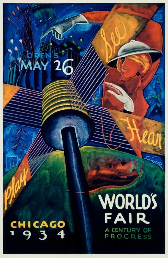 Chicago Worlds Fair 1933-34 Sandor 92351
