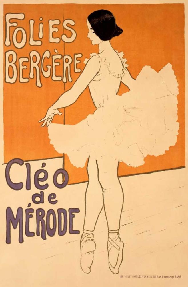 Folies-Bergere/Cleo De Merode Unknown 92355