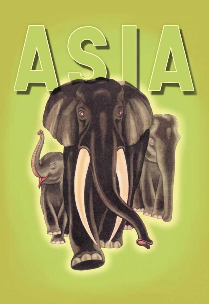 Indian Elephants, 1934 Harrer, Robert 96544