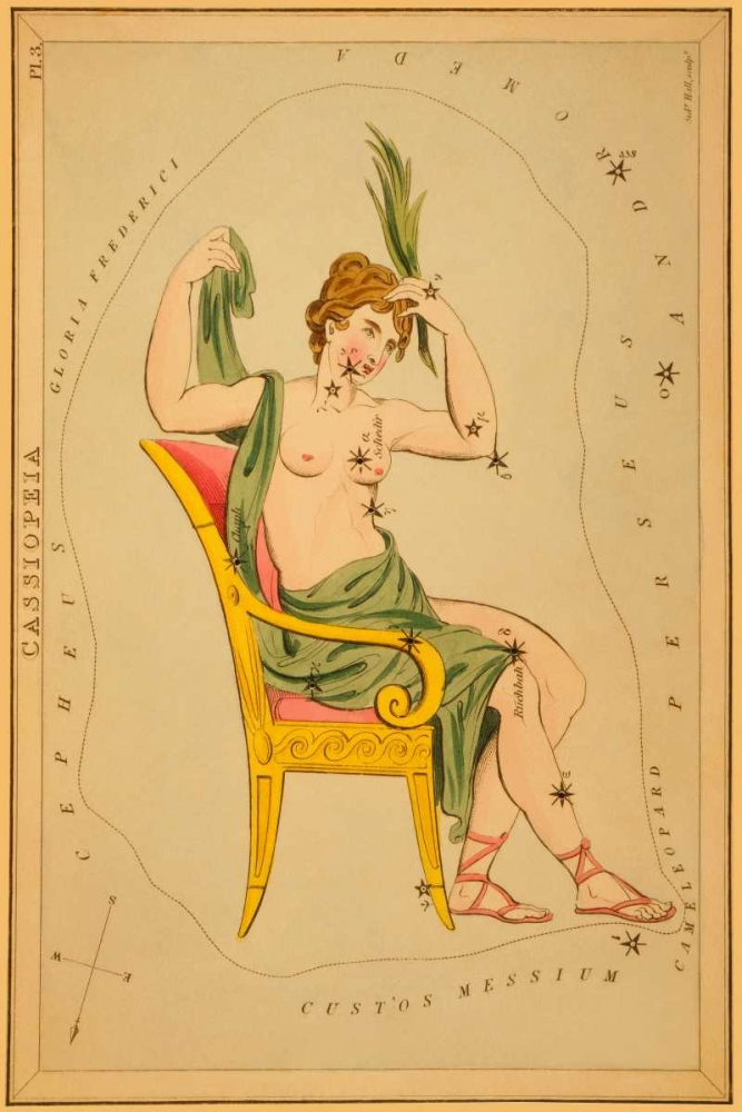 Cassiopeia, 1825 Aspin, Jehoshaphat 96282