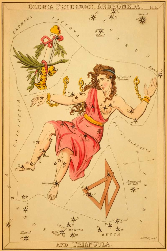 Gloria Frederici, Andromeda, and Triangula, 1825 Aspin, Jehoshaphat 96284