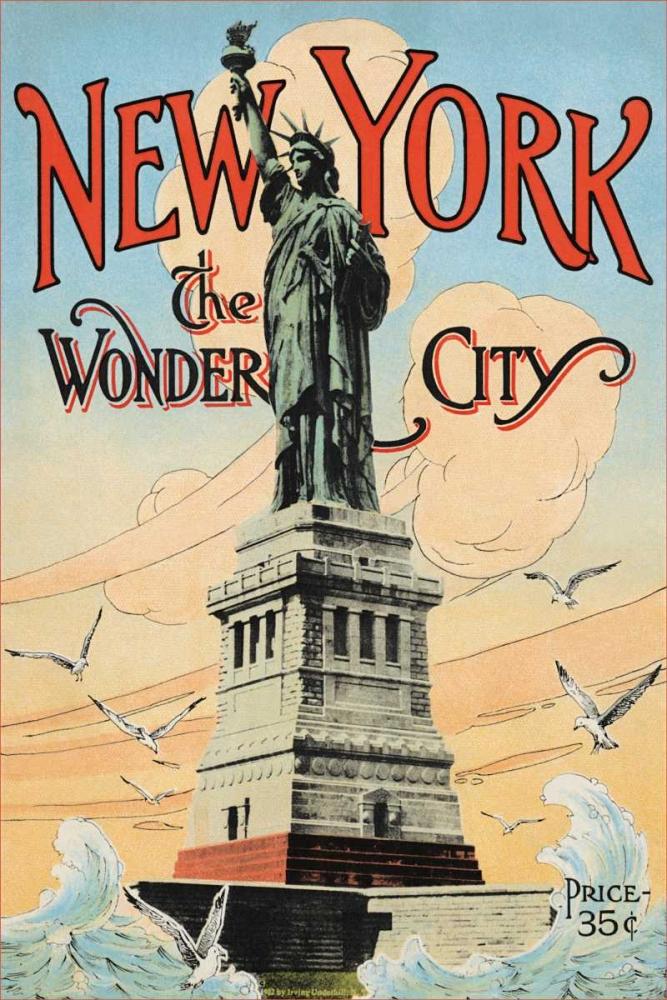 New York; The Wonder City, 1902 Underhill, Irving 93673
