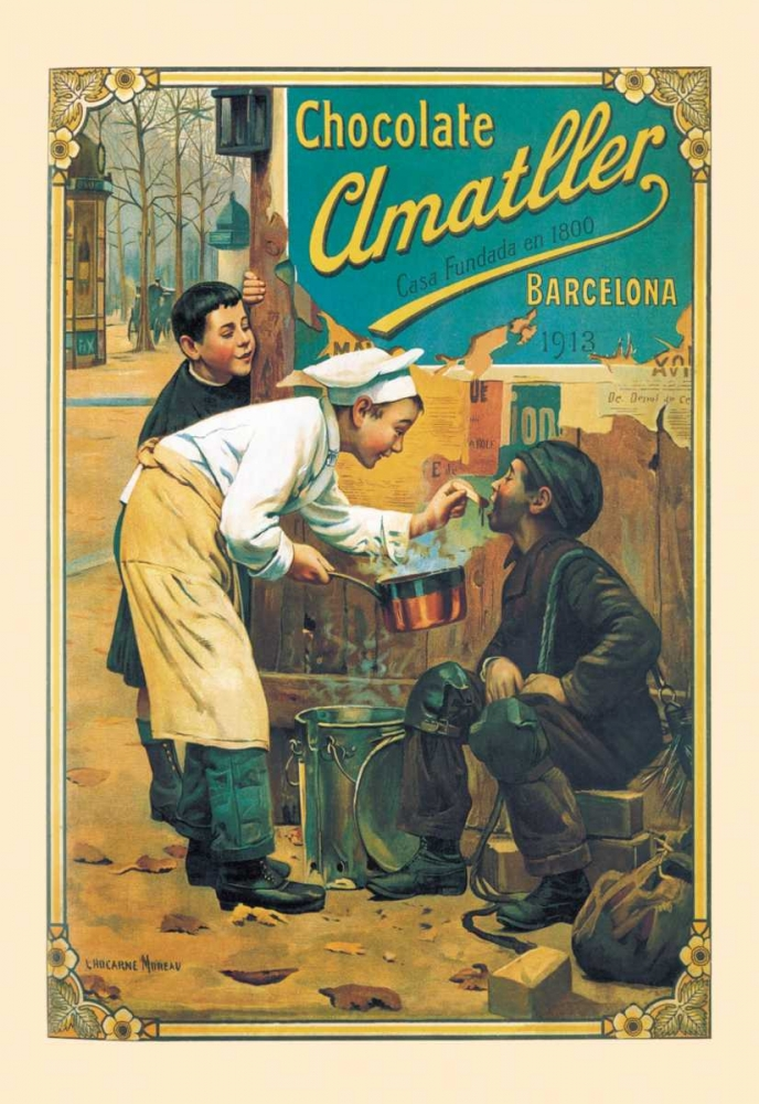 Chocolate Amatller, 1913 Unknown 96586