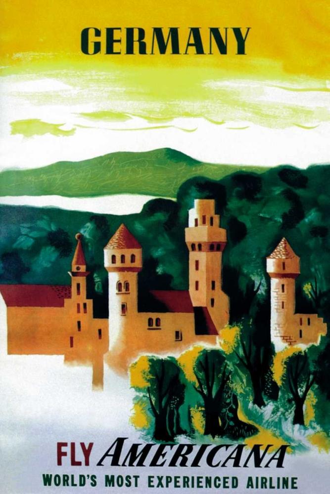 German Castle Unknown 96607
