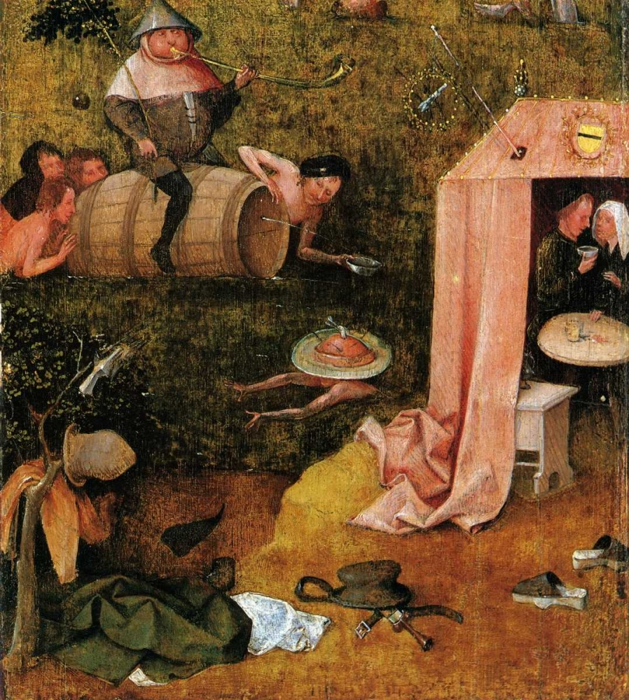 Allegory Of Gluttony And Lust Bosch, Hieronymus 92425