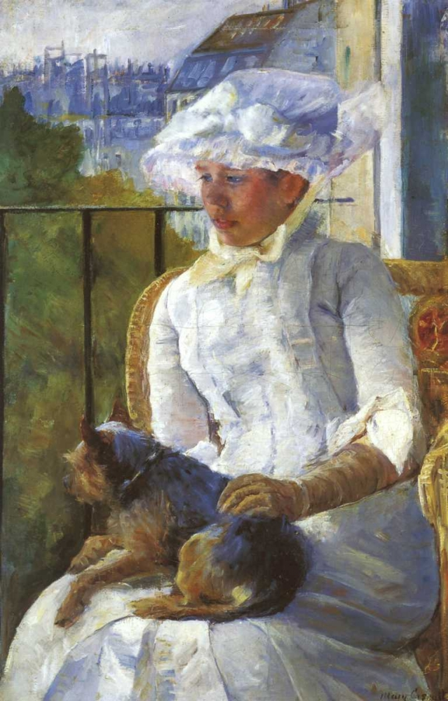 Young Girl At A Window 1883 Cassatt, Mary 92471