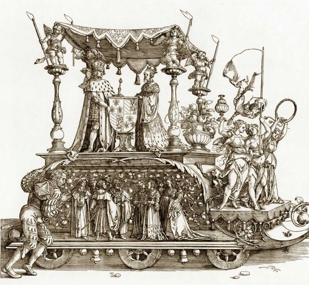 The Small Triumphal Car Durer, Albrecht 92489