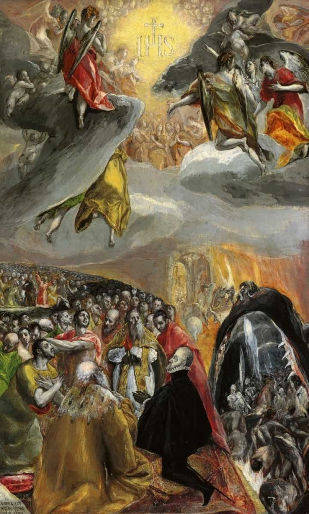 The Adoration Of The Name Of Jesus El Greco 92494