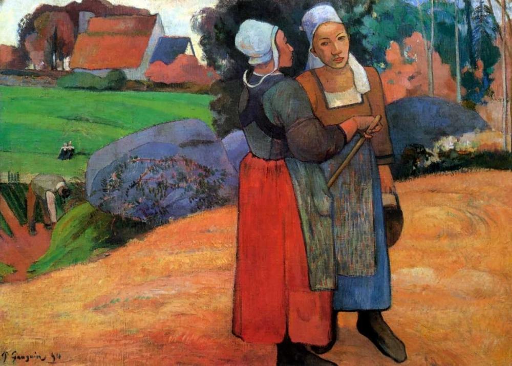 Breton Peasant Woman Gauguin, Paul 92498