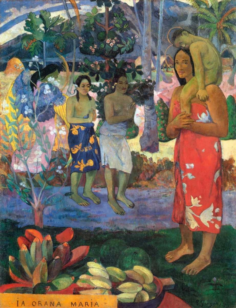 Hail Mary Gauguin, Paul 92506