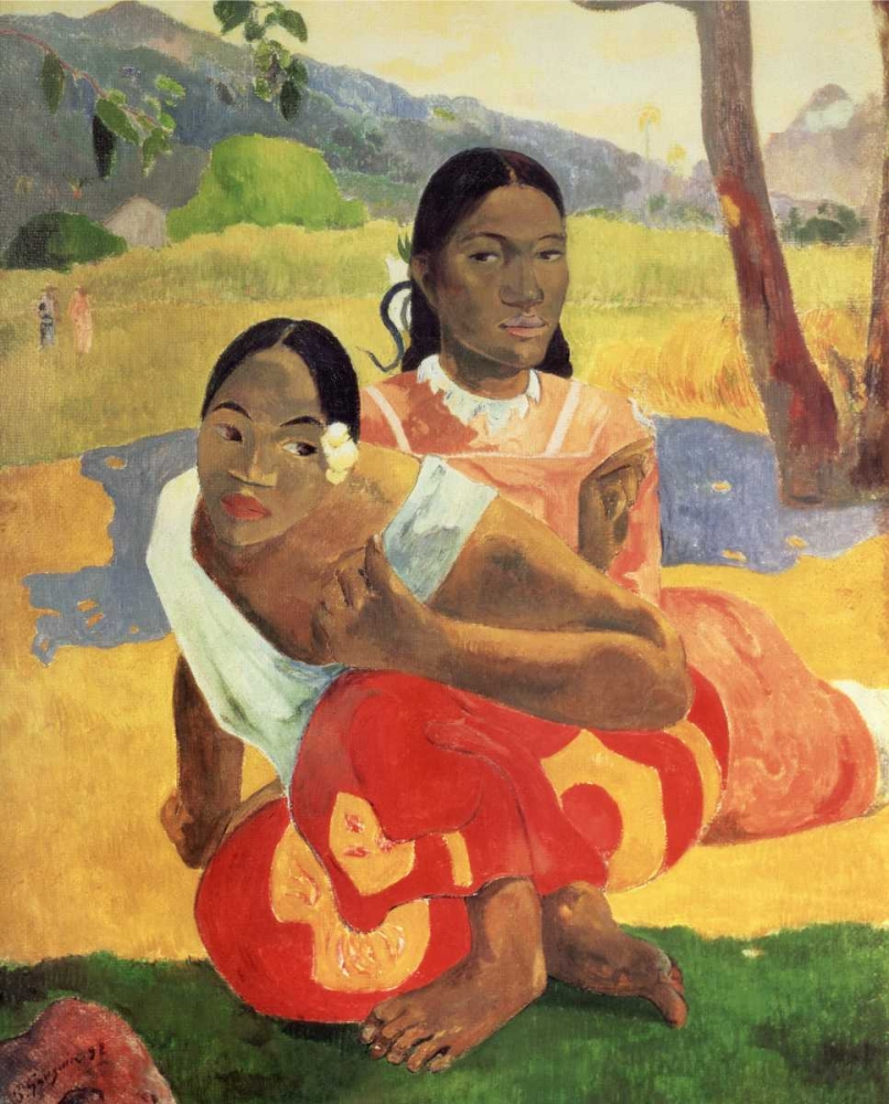 When Will You Marry Gauguin, Paul 92524