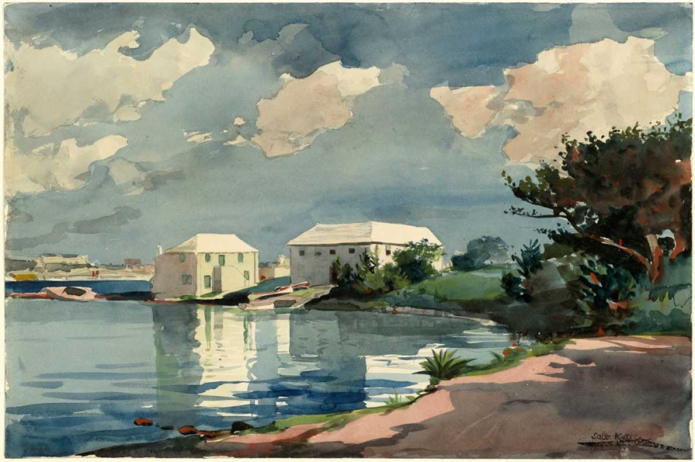 Salt Kettle Bermuda Homer, Winslow 92577