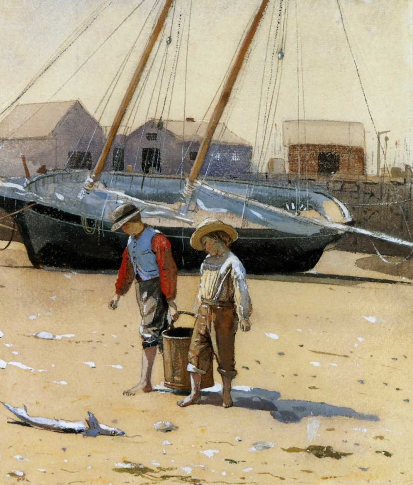 The Basket Of Clams 1873 Homer, Winslow 92584
