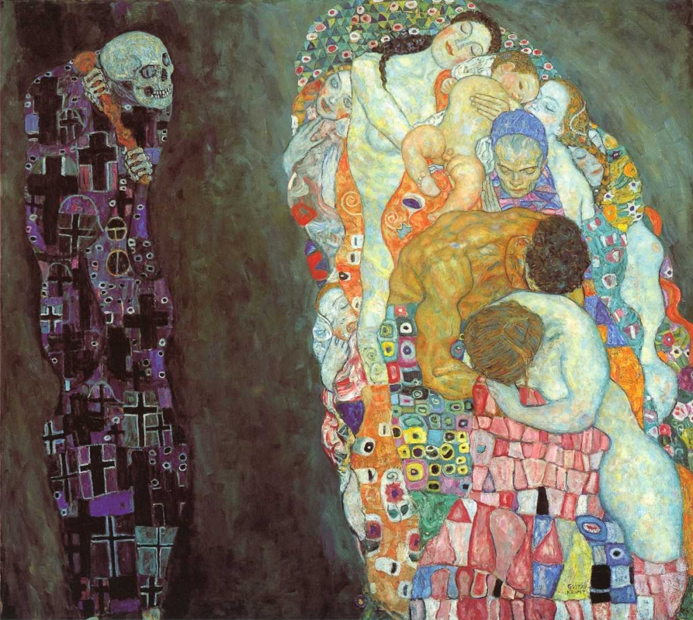 Death And Life Klimt, Gustav 92615