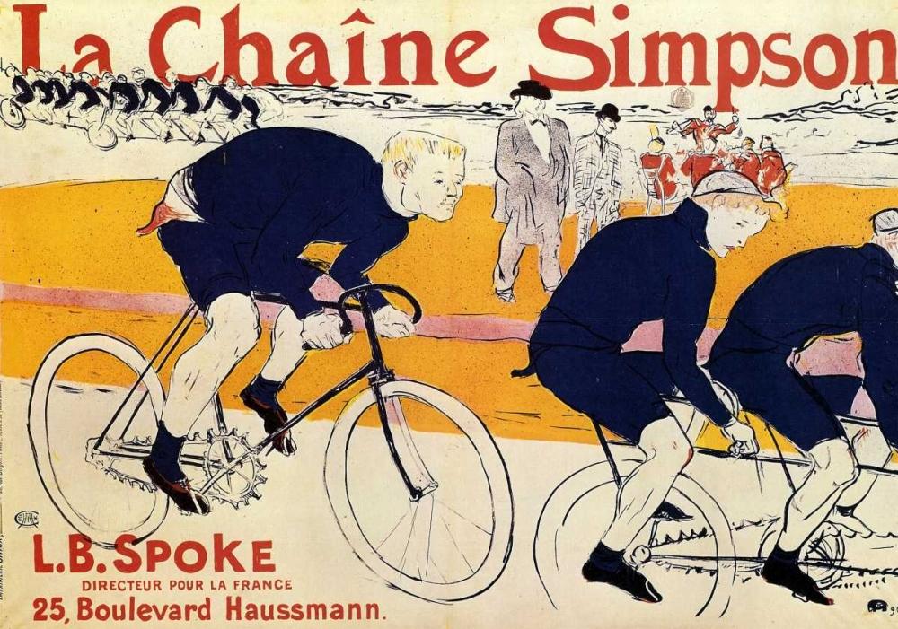 The Simpson Chain Toulouse-Lautrec, Henri 92674