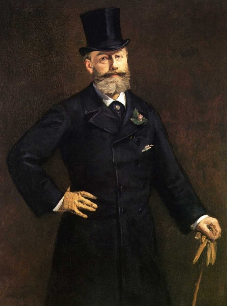 Portrait of M. Antonin Proust, 1880 Manet, Edouard 92675