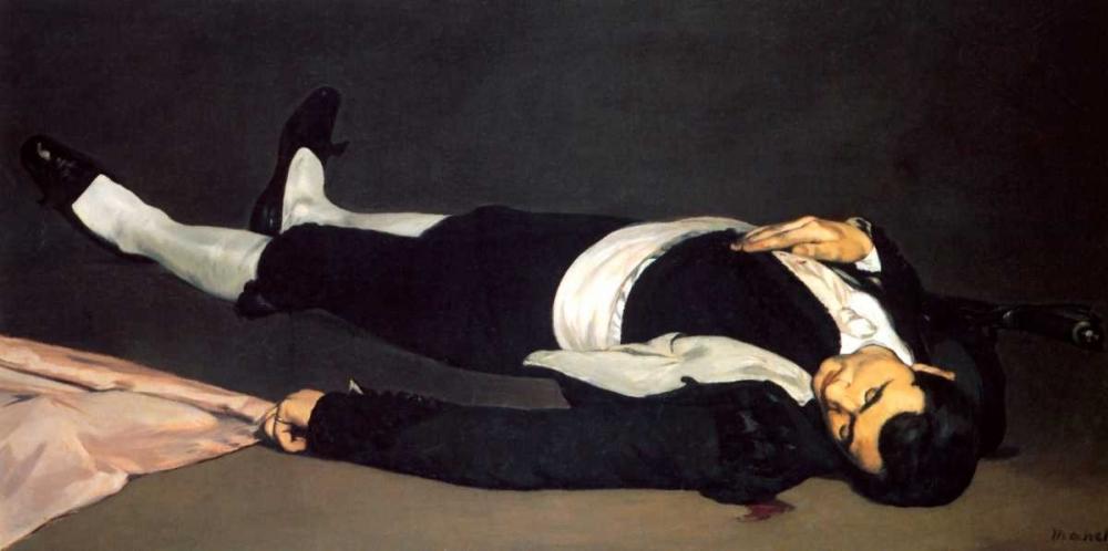 The Dead Toreador Manet, Edouard 92683