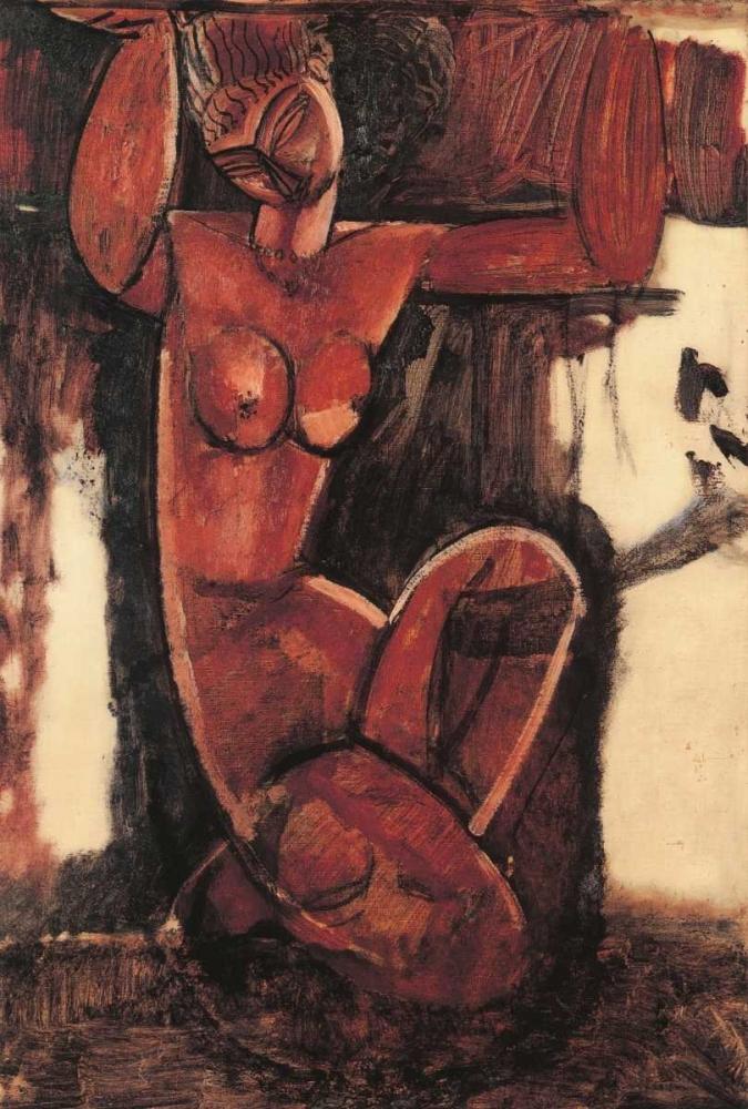 Caryatid A Modigliani, Amedeo 92707