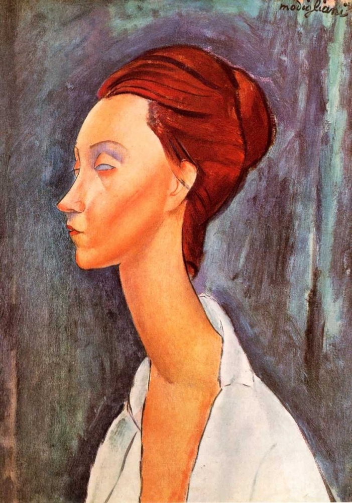 Lunia Czechowska 0 Modigliani, Amedeo 92725