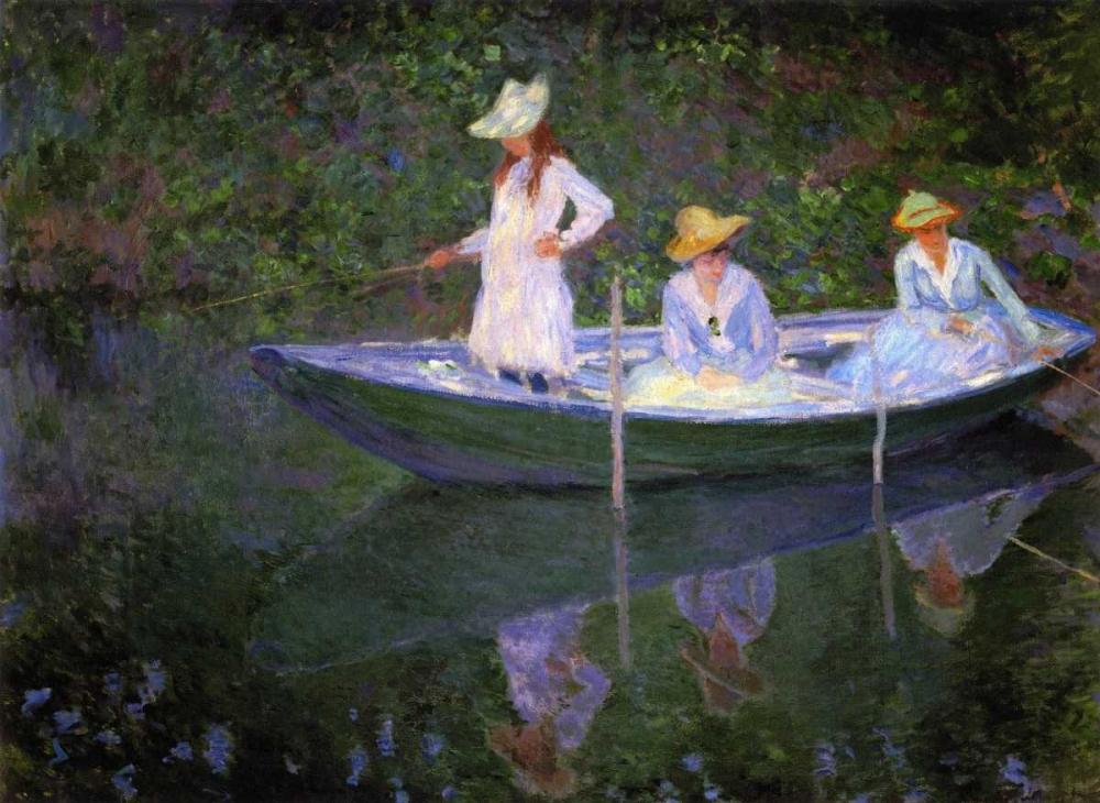 Barque A Giverny Monet, Claude 92747