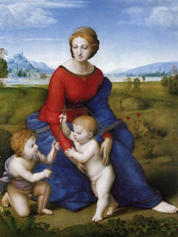 Madonna And Child With St John 2 Raphael 92803