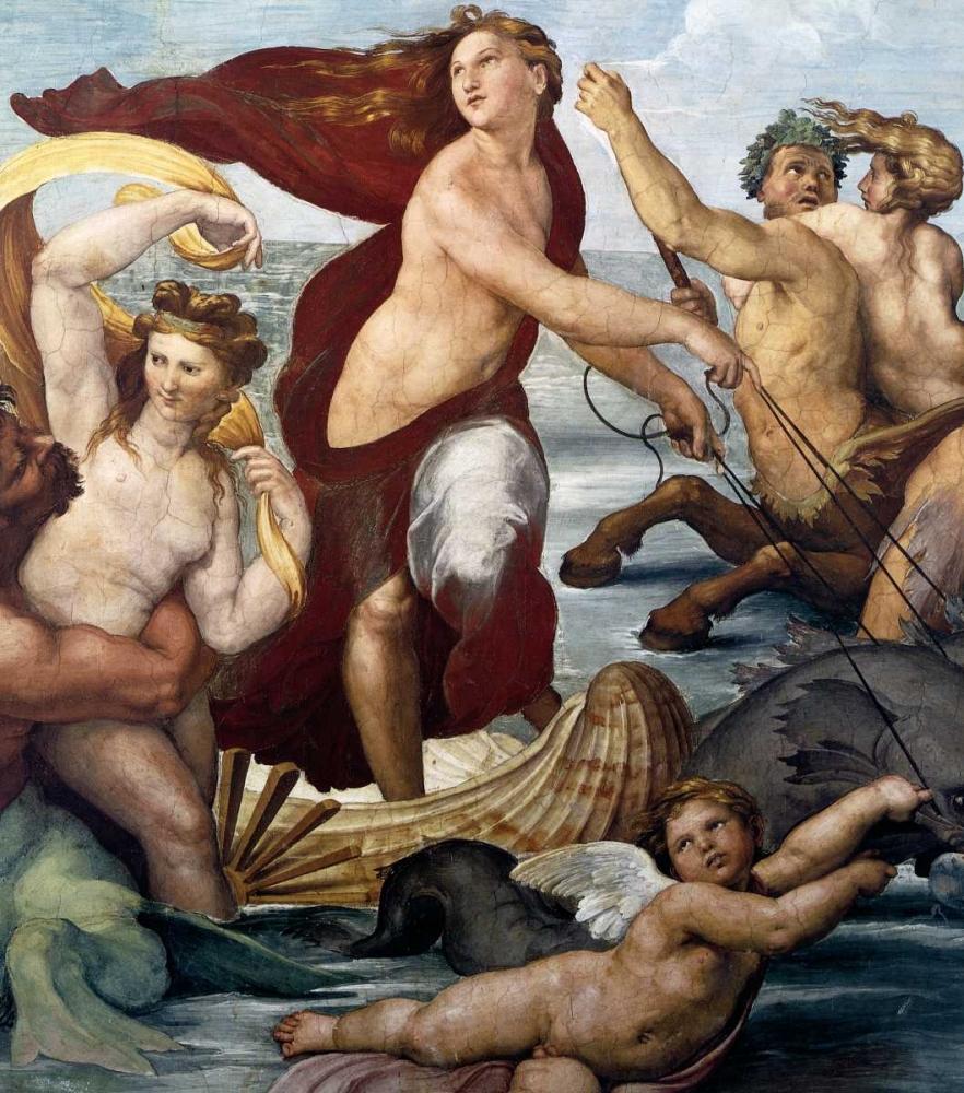 Triumph Of Galatea Detail Raphael 92807