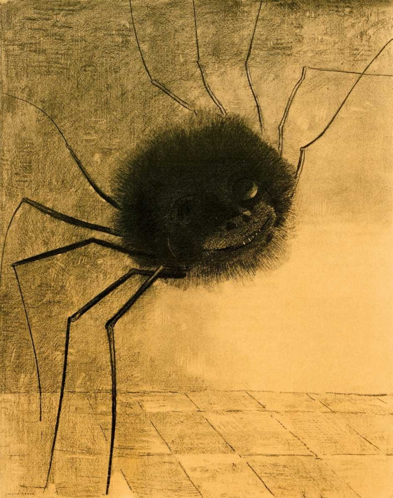 The Smiling Spider Redon, Odilion 92814