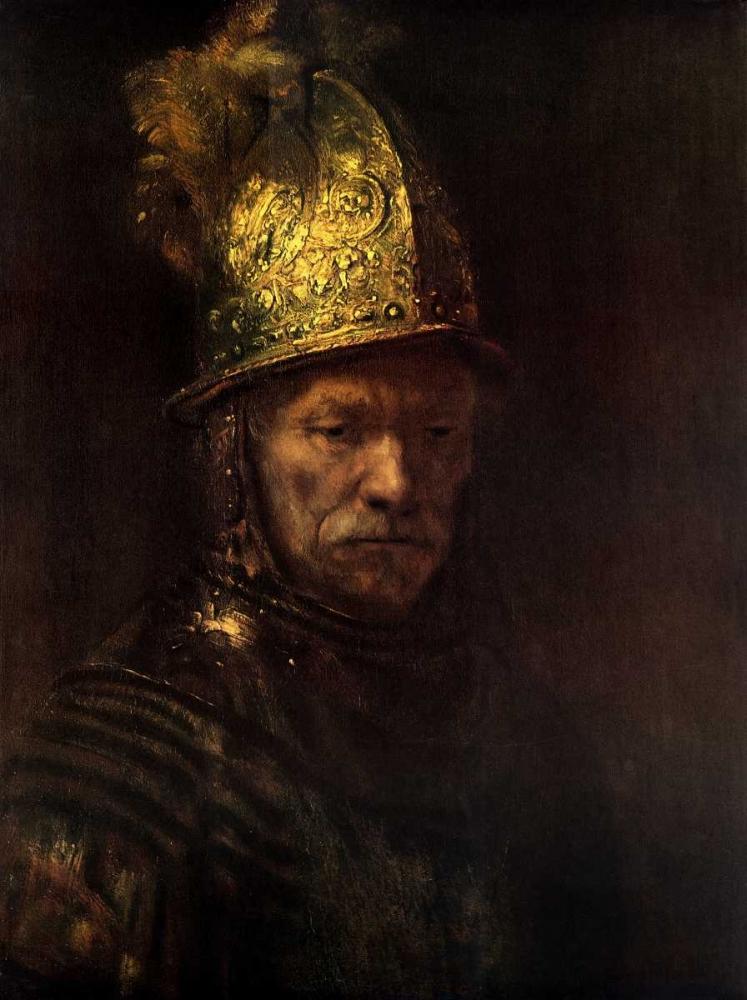 Man With Gold Helmet Van Rijn, Rembrandt 92815