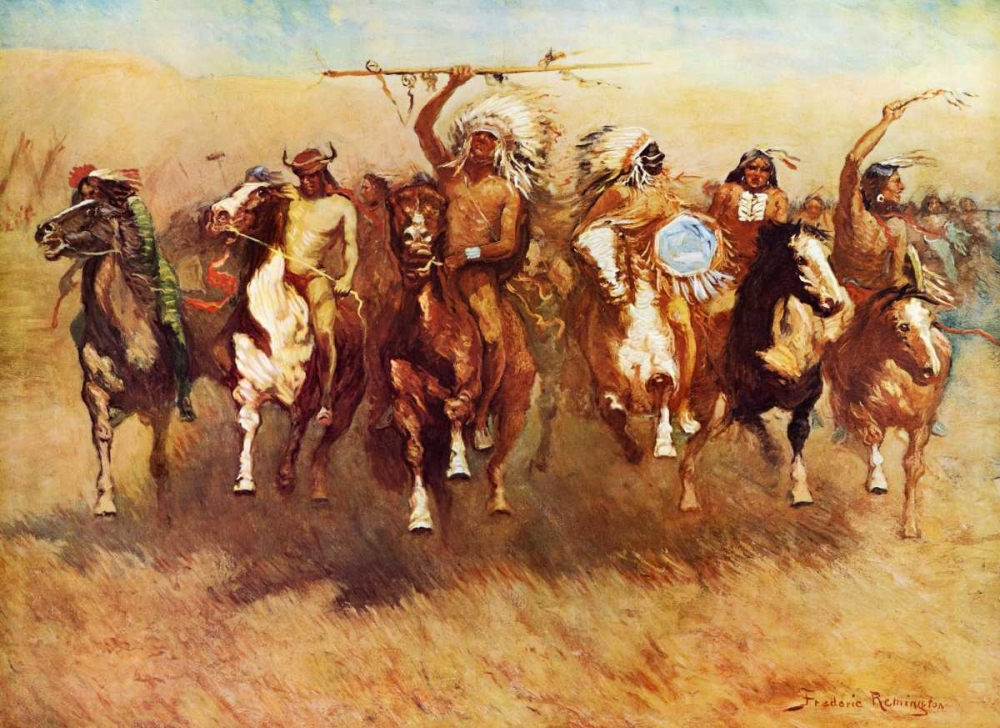 Return Of A Blackfoot War Party Remington, Frederic 92834