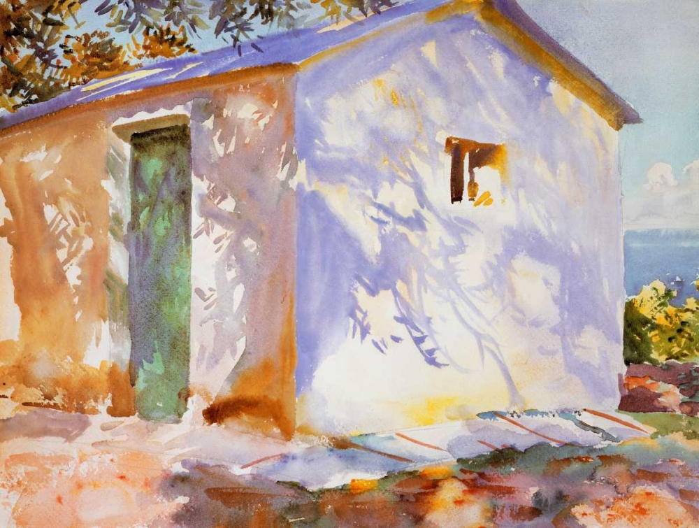 Corfu, Lights and Shadows Sargent, John Singer 92859