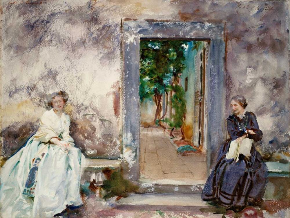 Doorway - the Garden Wall Sargent, John Singer 92862