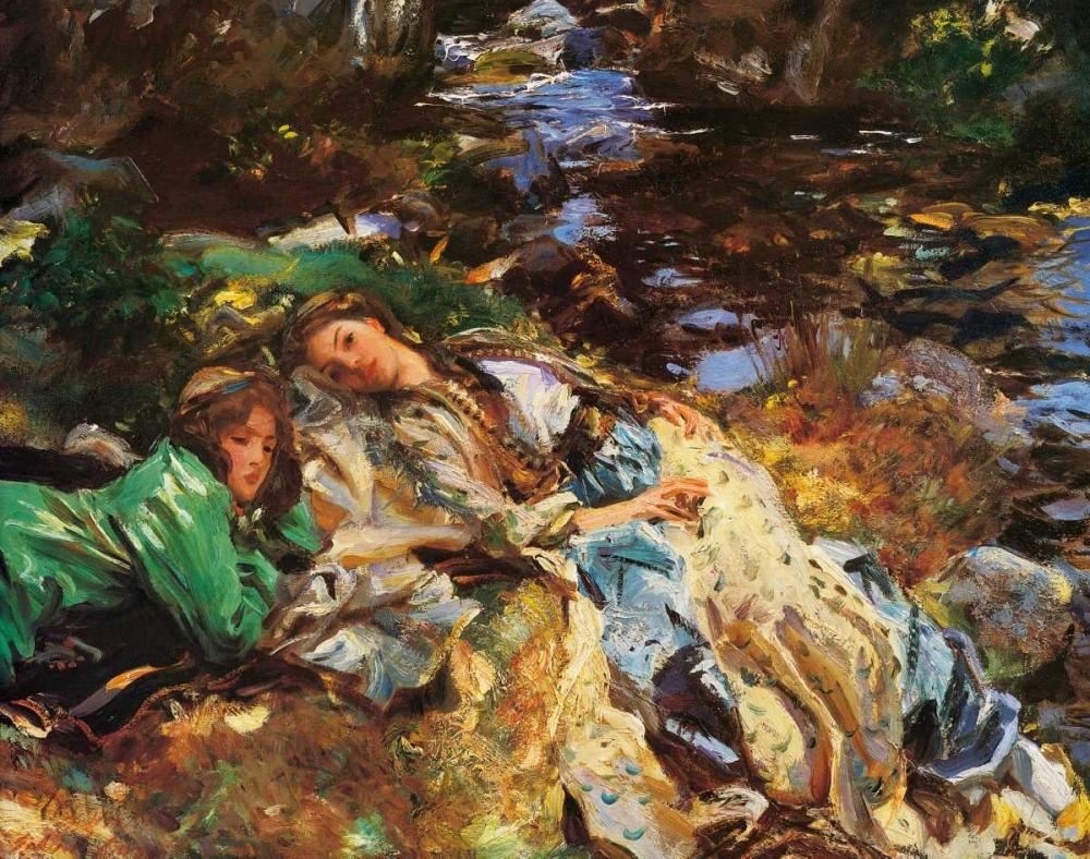 The Brook, 1907 Sargent, John Singer 92884