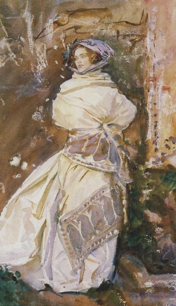 The Cashmere Shawl, 1910 Sargent, John Singer 92885