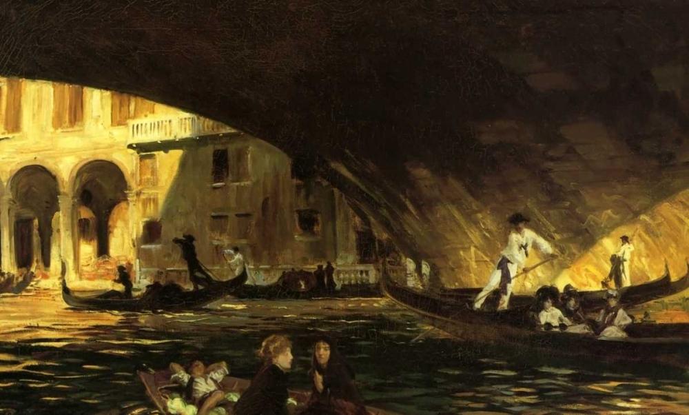 The Rialto, Venice, 1911 Sargent, John Singer 92887