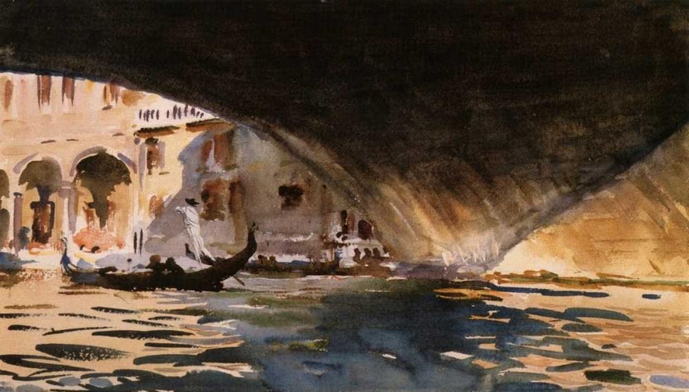 Under the Rialto Bridge, 1909 Sargent, John Singer 92890